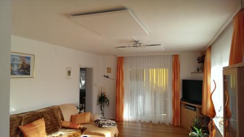 Infrarotheizung Wohnzimmer
