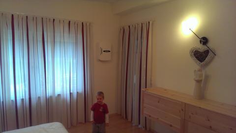 Wohnraumlüftung Schlafzimmer